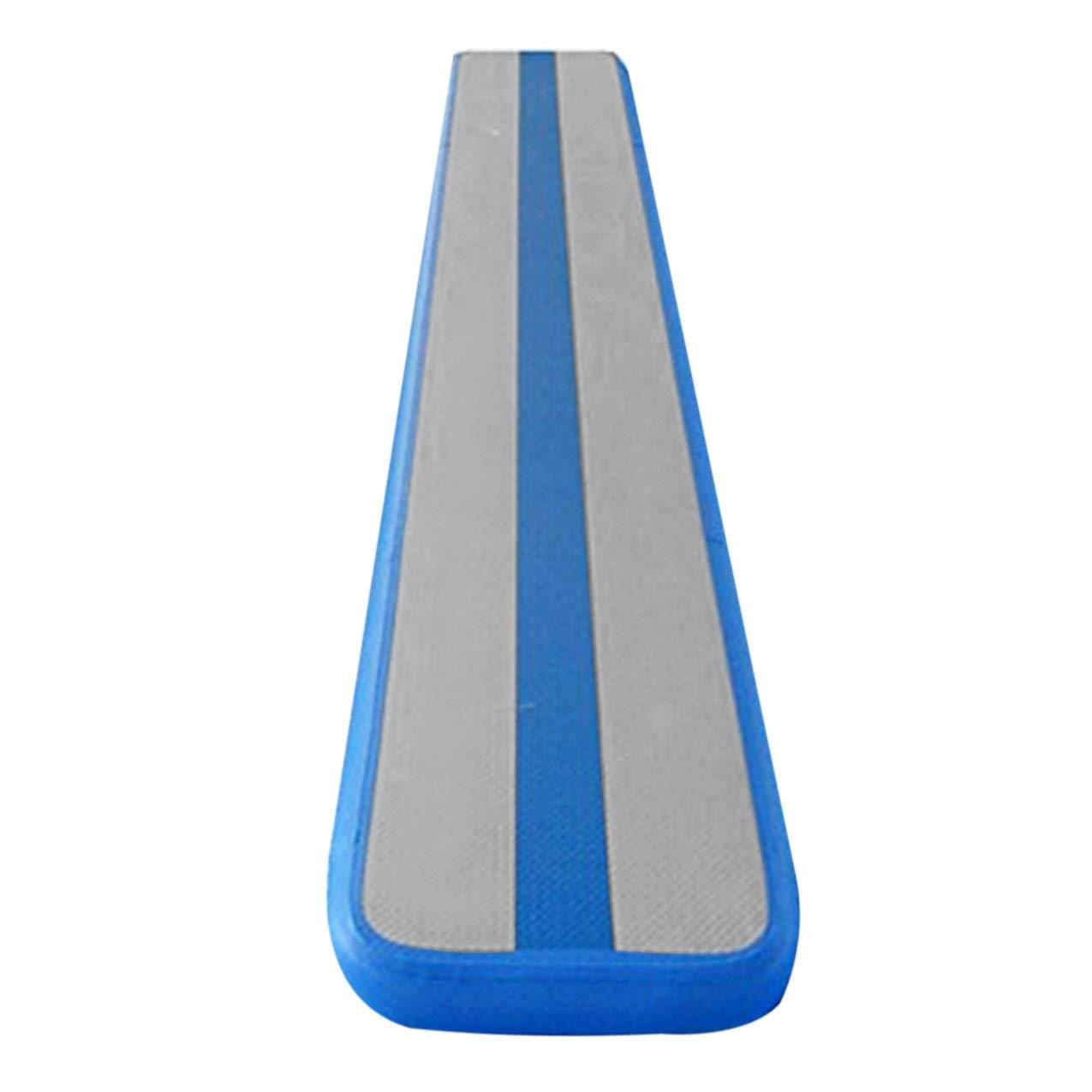 Redstrong Plancher Gonflable de Tapis de Tapis de Cheerleading de Plancher d'air de Matelas d'entraînement de Coussin de Taekwondo Gonflable avec la Pompe électrique