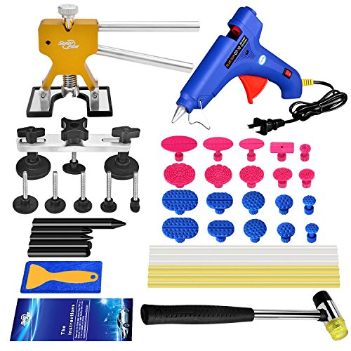 Super PDR Automotive Repair Tool Kits Paintless Dent Repair - 4