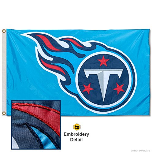 (WinCraft Tennessee Titans Embroidered Nylon Flag)