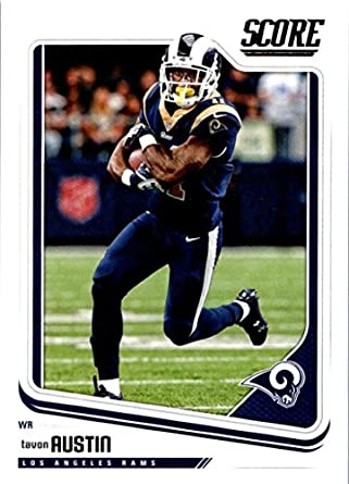 Amazoncom 2018 Score 173 Tavon Austin Los Angeles Rams Football