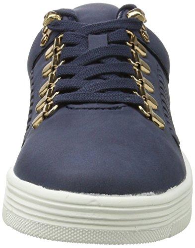 ICHI Damen A Muna FW Sneaker Blau (Dark Navy)
