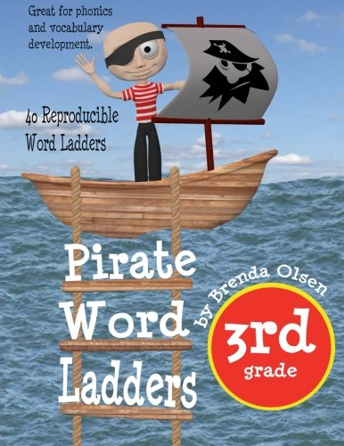 (Pirate Word Ladders: Third Grade)