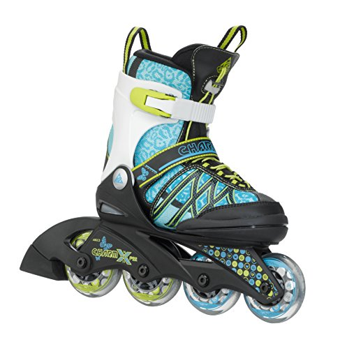 K2 Kinder Inline Skate Charm X Pro, türkis, S, 3050209.1.1