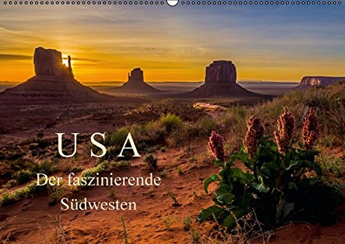 USA Der faszinierende Südwesten (Wandkalender 2016 DIN A2 quer): Natur und Städte, die Highlights des Südwestens der USA (Monatskalender, 14 Seiten) (CALVENDO Natur)