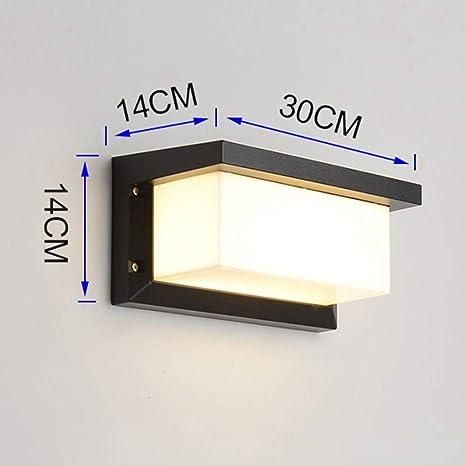 Design LED Haus Wand Leuchte ALU Veranda Akzent Lampe Außen Beleuchtung schwarz