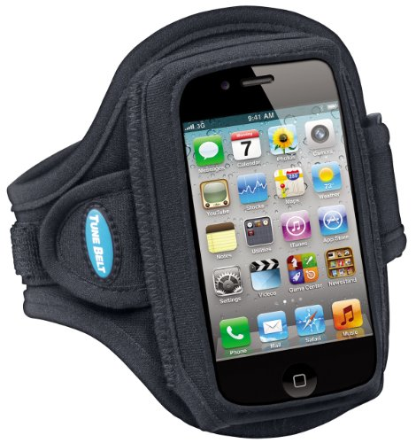 Armband for iPhone 4, 4S, 3G, 3GS; Also fits for iPod classic (all gens) and iPod touch (first – fourth generation) - Apple Ipod Touch Sports Armband