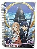Great Eastern Entertainment Sword Art Online Kirito & Asuna Hardcover Notebook