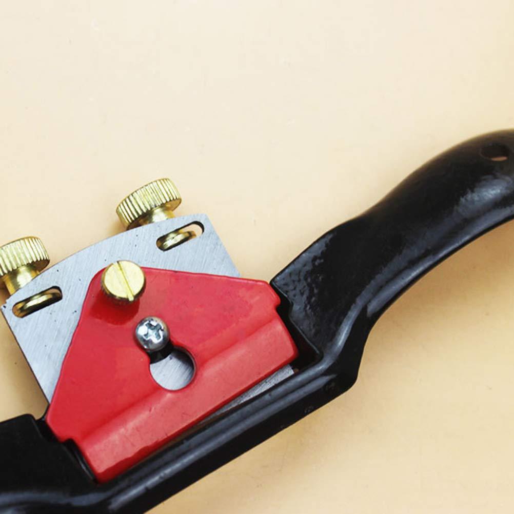 Yardwe 51MM verstellbares Spokeshave Flache Metallklinge Holz Handwerkzeug Handwerkzeug