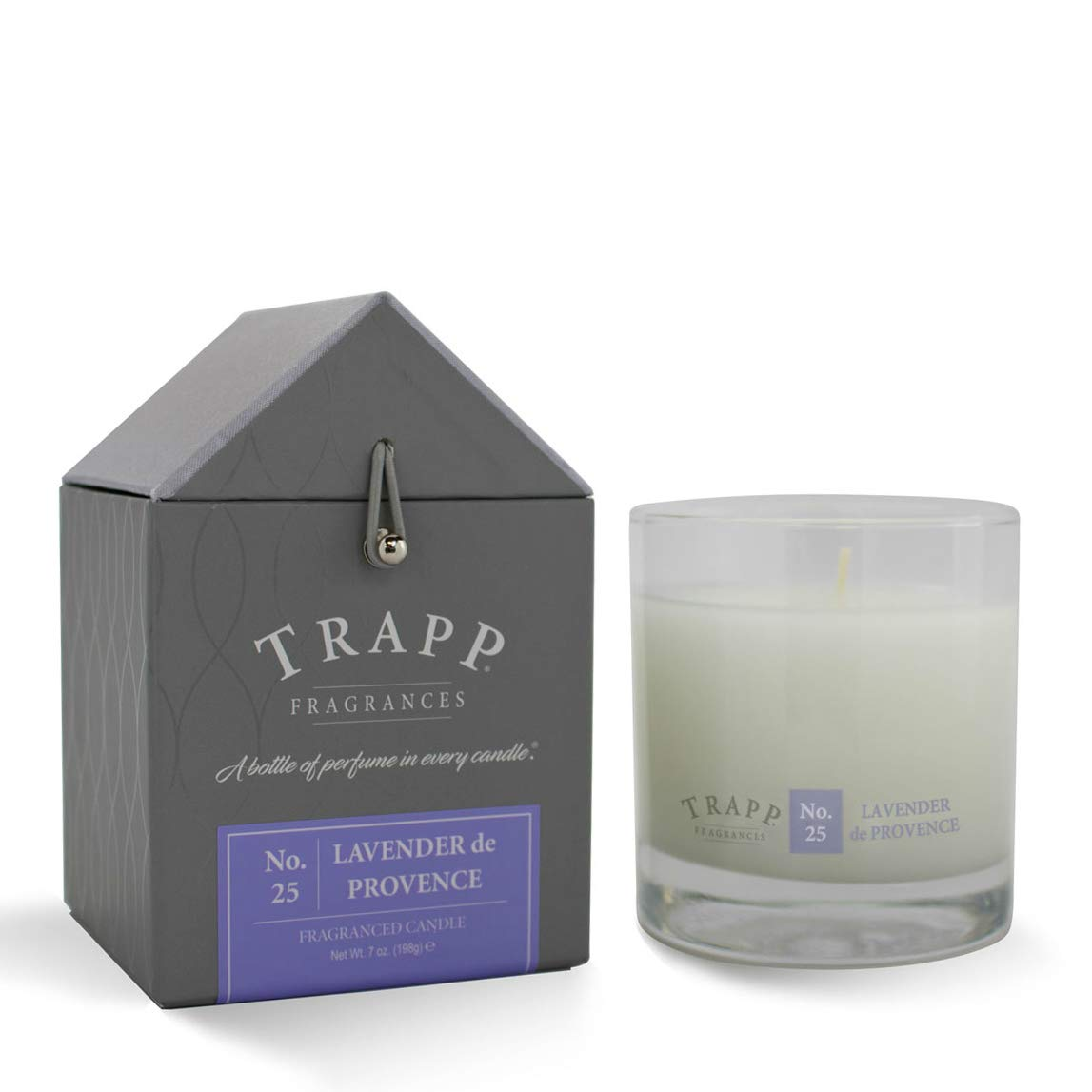 Trapp Signature Home Collection No. 25 Lavender De Provence Poured Scented Candle, 7-Ounce by Trapp