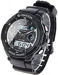 (ALIKE) AK1170 50M Waterproof Digital Watch Quartz Analog...
