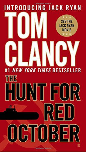 Book cover for The Hunt for Red October