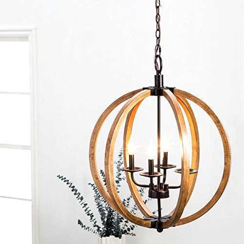 I Love Living Vineyard Orb 4-light Chandelier by I Love Living (Image #1)