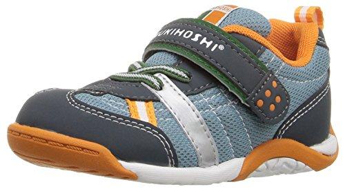 TSUKIHOSHI Boys' Kaz Sneaker, Charcoal/Sea, 10.5 M US Little Kid