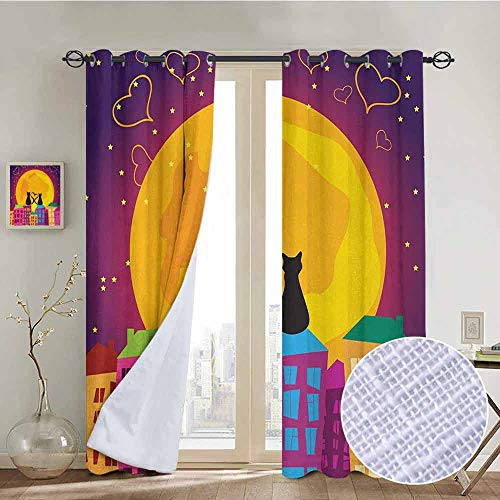 Animal Blackout curtains - gasket insulation Cats