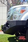 Body Armor 4x4 FD-19335 Black - Steel Front Winch Bumper for 2011-2013 Ford Super Duty