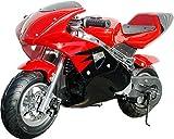 starmax 40cc Gas Powered Kids Mini Pocket Bike (Red/Black)