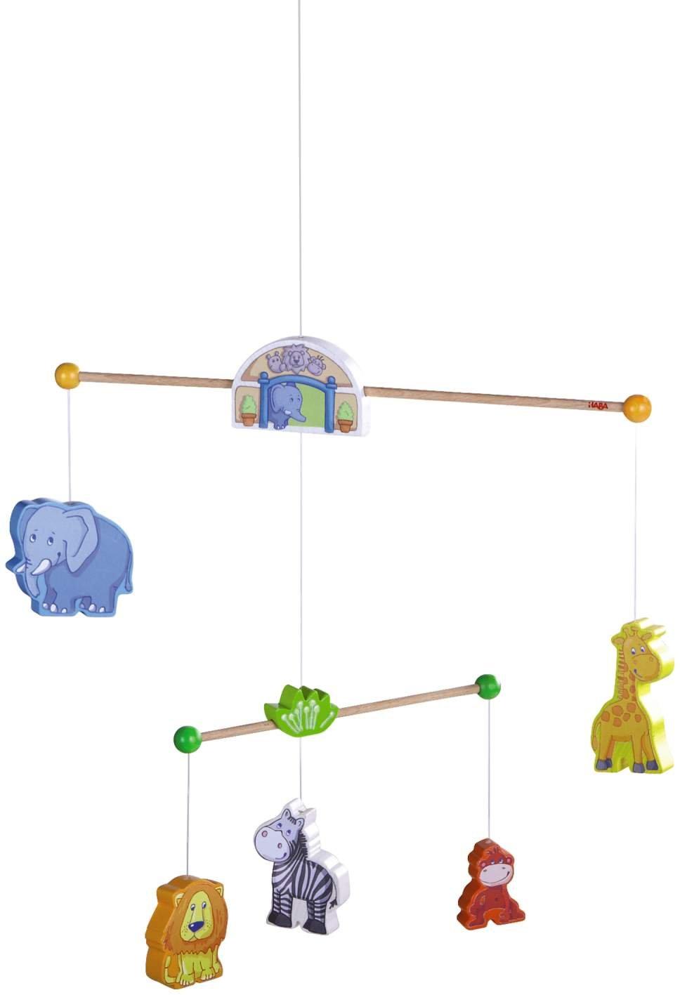 HABA 7632 - Meine erste Spielwelt Zoo - Mobile Zoofreunde