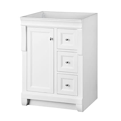 Foremost Nawa2421d Naples 24 Inch Width X 21 Depth Vanity White