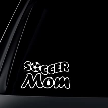 Soccer mom car decal sticker 6