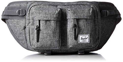 Herschel Eighteen Hip Sack, Raven Crosshatch
