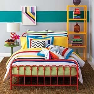 9 by Novogratz Bar Code Mini Comforter Bedding Set 'KING'