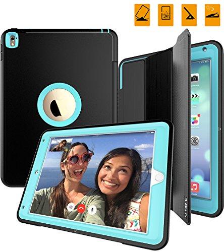 iPad Case,2016 iPad Pro Case 9.7 Inch, SEYMAC Three Layer