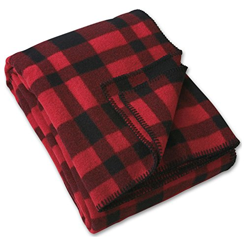Price comparison product image Filson Mackinaw Blanket - Red and Black