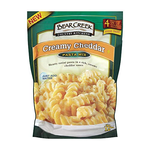 Bear Creek Pasta Mix, Creamy Cheddar, 12.2 Ounce (Pack of 6)