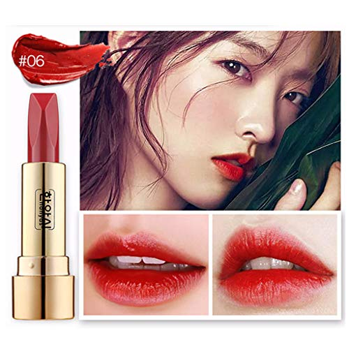 OTTATAT 2019 Summer Clearance Double sided Mirror Matte Sexy Lip Gloss Long Lasting Waterproof Lipstick 6pcs velvety lipgloss 100% natural basin tube statement pink frost (0.14 ounce) -
