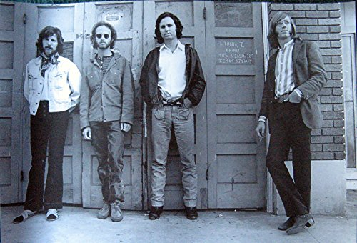 the-doors-standing-bw-poster-morrison-hotel-era-jim-morrison-rock-legends-sent-from-usa-in-pvc-pipe