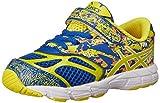 ASICS Kids Noosa Tri 10 TS Running Shoe Blue/Flash Yellow/Orange 6 M US Toddler