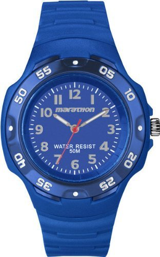Timex T5K749 Ironman Marathon Oversized Unisex Watch - Blue Dial