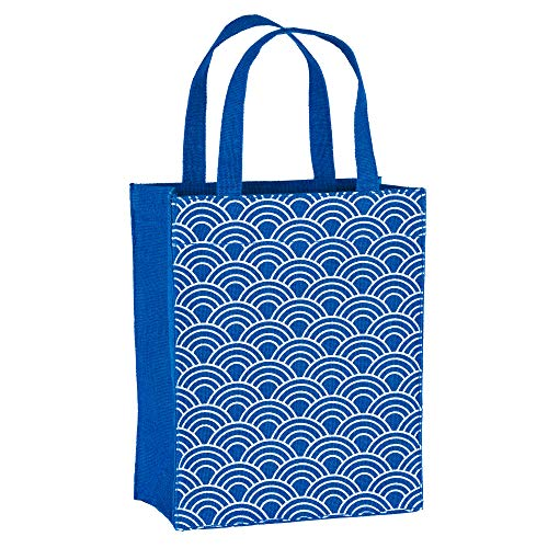- Illumen Fabric Gift Bags and Reusable Gift Bags, Free Greeting Cards, 2 Pack, Handmade, Eco Friendly Tote Bags, 11 Patterns, Medium Size (7.75 x 9.5 x 3.75 inches)