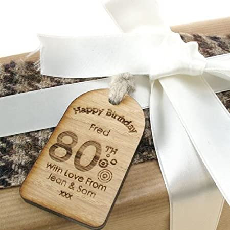 80th Birthday Gifts For Men Unusual Gift Personalised