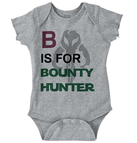 B is for Bunty Hunter ABCs Funny Alphabet Romper Bodysuit