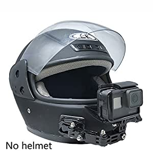 Motorcycle Helmet Chin Mount Bracket Adjustable Ride