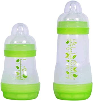 Baby Infant Wide Neck Caliber Breast Nipple Newborn Silicone Bottle Nipples Gift
