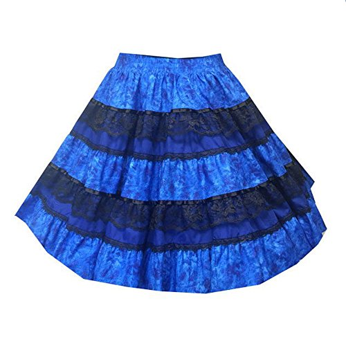 Spanish Spice Western Square Dance Skirt