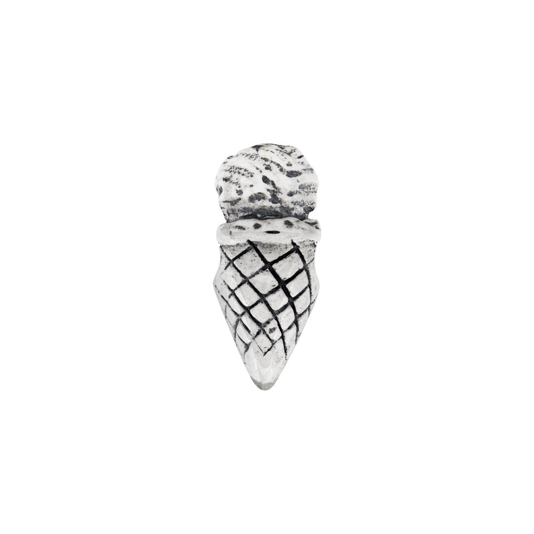 ICE CARATS 925 Sterling Silver Charm For Bracelet Ice Cream Cone Bead Food Drink Fine Jewelry Ideal Gifts For Women Gift Set From Heart by ICE CARATS (Image #5)