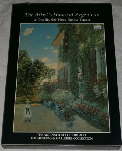 The Artist's House at Argenteuil jigsaw puzzle 500 pieces ()