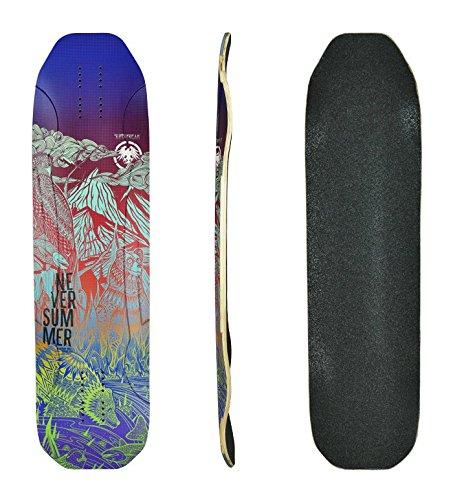 Never Summer Superfreak Complete Longboard (2017) - Cruiser/Freeride Skateboard