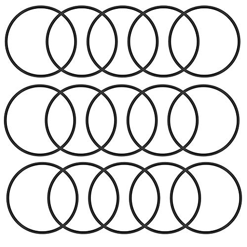 BTMB 30 Pcs Industrial Flexible Nitrile Rubber O-Rings Oil Seal Gaskets,3.1mm/0.12 Thickness (75mm/2.95'' OD) ()
