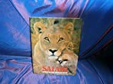 img - for SAFARI , les carnets de bord d'un photographe animalier au Kenya. book / textbook / text book