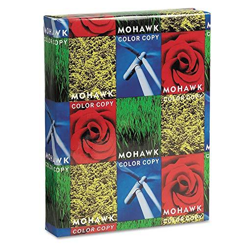 Mohawk 36213 Copier Gloss Cover Paper, 100lb, 94 Brightness, Letter, Pure White, 250 Shts from MOT