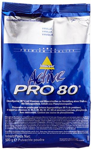 Inko ACTIVE Proteinshake Pro 80 Beutel, Vanille, 500g
