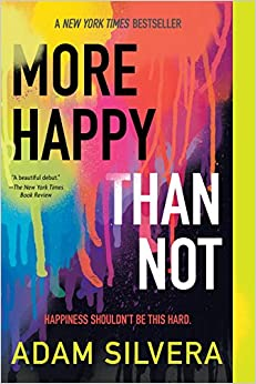 Image result for more happy than not book cover