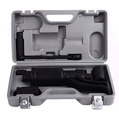 Goplus Torque Multiplier Set Labor Saving Lug Nut Wrench Remover Socket Wrench Set W/ RV Semi Socket