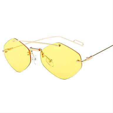 DongOJO Moda rojo cuadrado negro gafas de sol mujer doble mujer ...