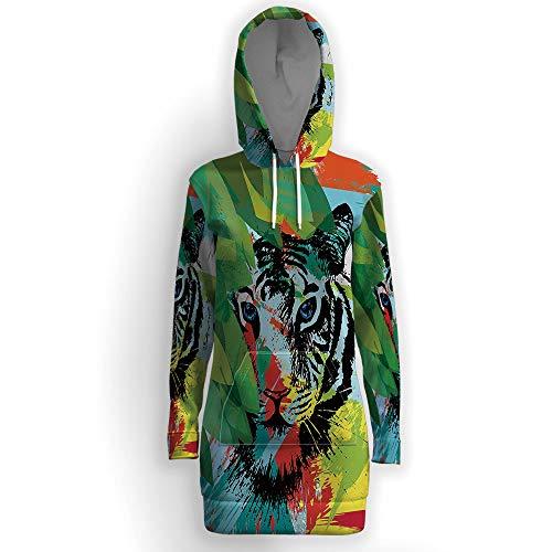 Fashion Long Sleeve,Tiger