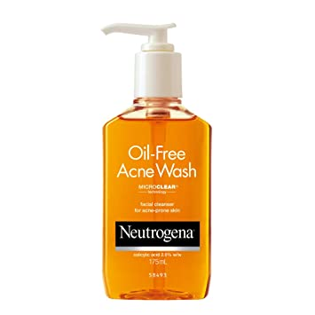 how to use acne wash oil free